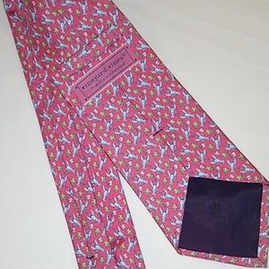 Vineyard Vines lobster silk necktie